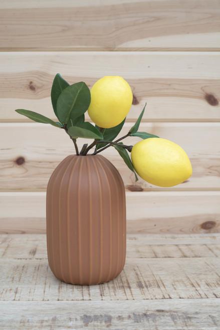 Lemons on Stem (Faux)