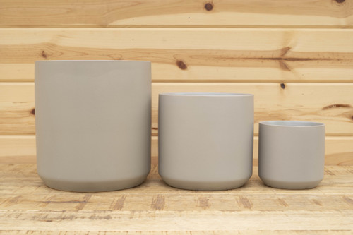 Kendall Pot in Grey