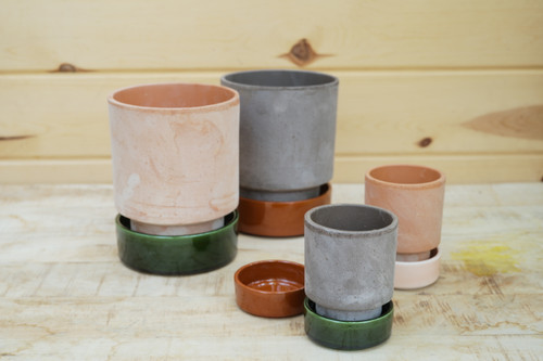 Bergs Hoff Pots and Saucers