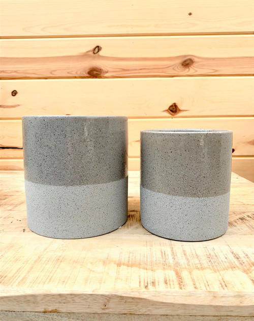 Flower Pot Dark Grey