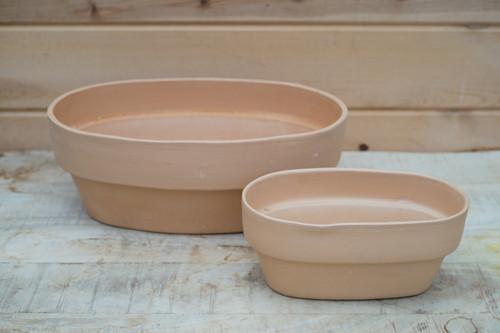 Oval Clay Pot