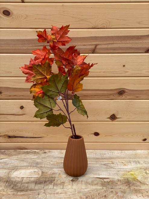 """36"""" Maple Leaf Spray (Faux)"""
