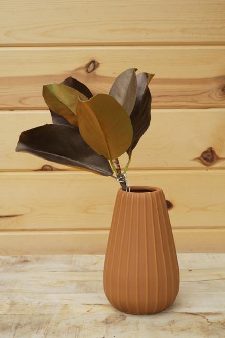 """14"""" Magnolia Leaf Pick (Faux)"""