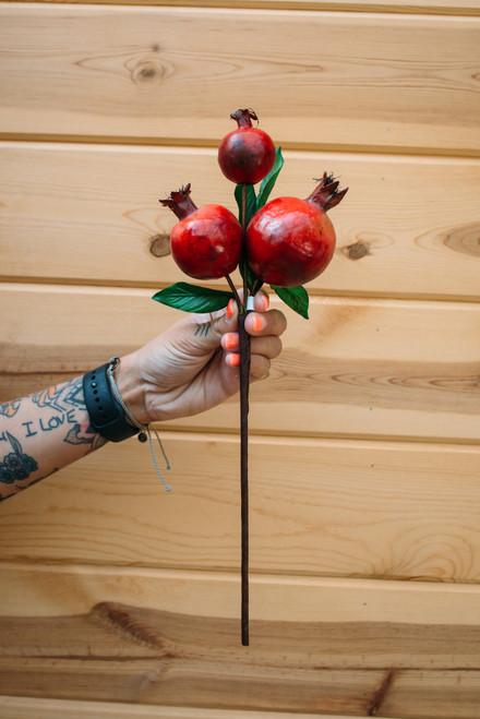 "13"" Pomegranate Pick"