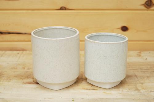 Croix Pot in White