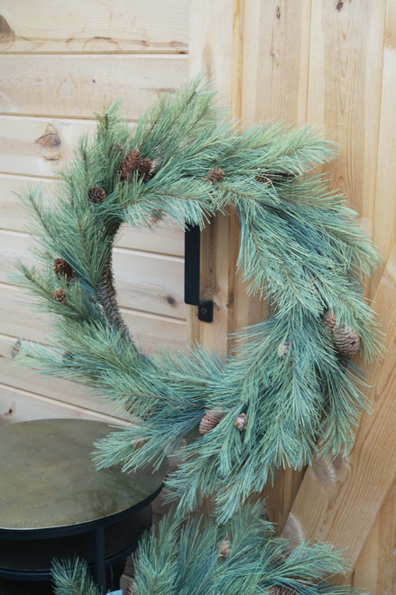 Northern Soft Pine Wreath (Faux)