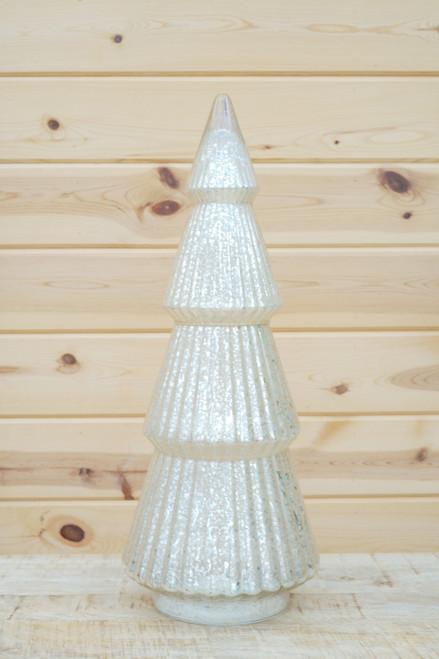 Mercury Glass Tree in Silver