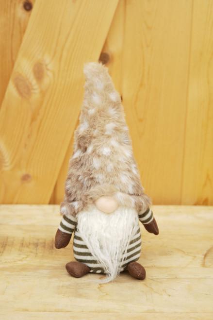 Brown & White Gnome