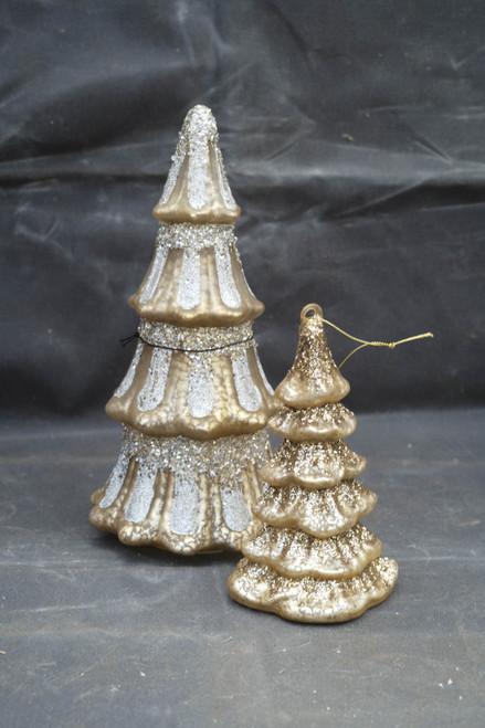 Silver Mercury Glass Tree