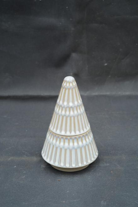Ceramic Tree Candle Winter Mint