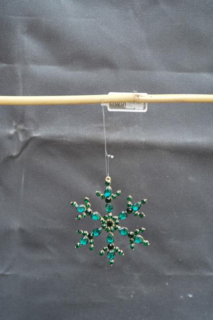 "4.5"" Rhinestone Snowflake Ornament"