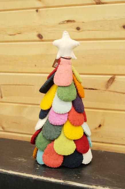 Wool Felt Christmas Tree