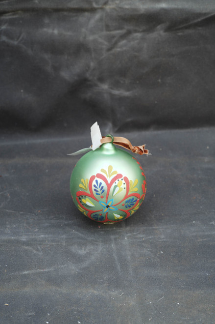 100mm Painted Glass Tile Ornament