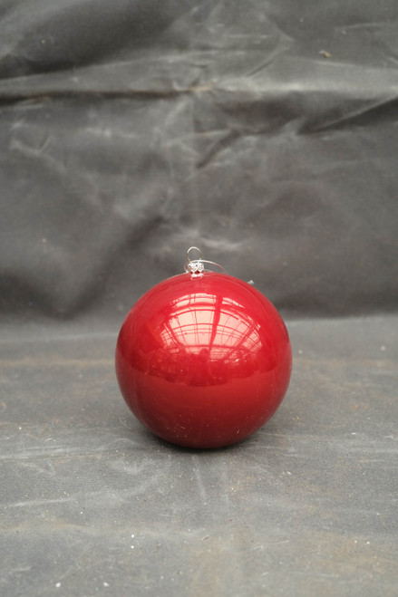 120mm Red Pearl Shatterproof Ornament