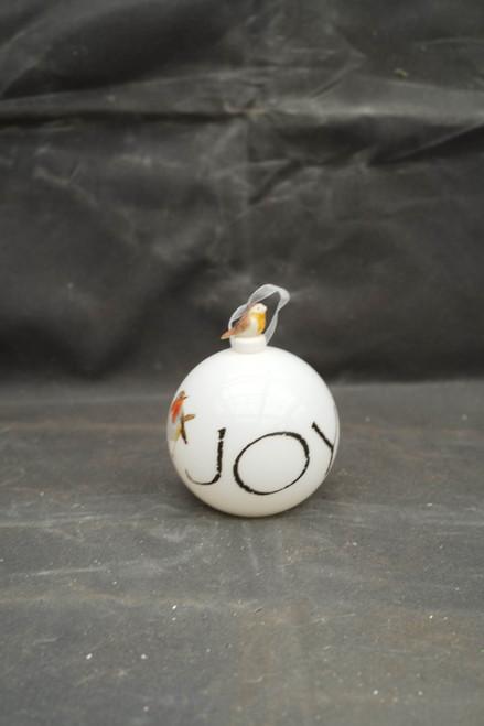 100mm Hand Blown Joy Bird Ornament