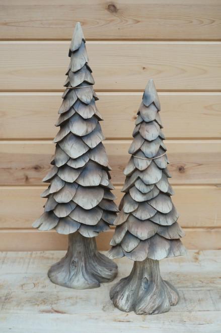 Carved Christmas Tree