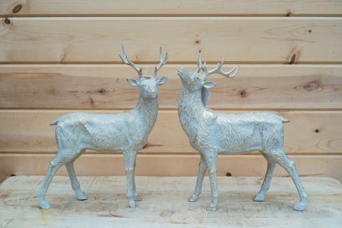 Standing Deer in Gold