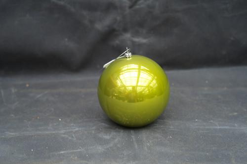 120mm Green Pearl Shatterproof Ornament