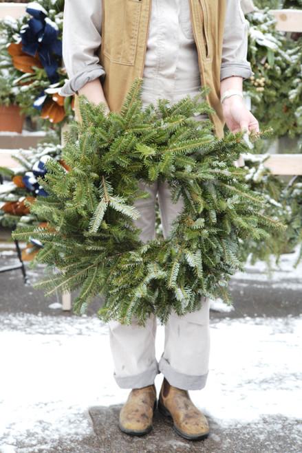 Fraser Fir Wreath (Fresh)