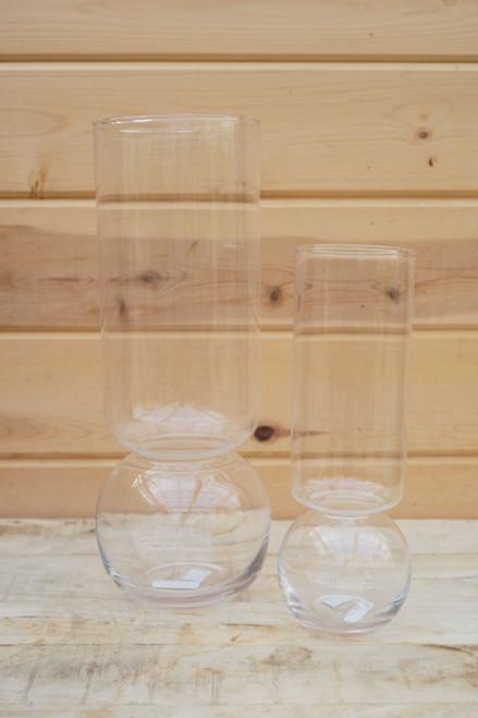 Clear Bulb Vase