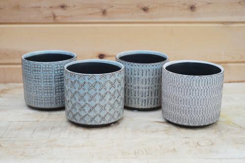 Loretto Grey Pot Assorted