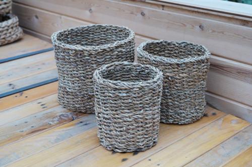 Mini Round Seagrass Basket