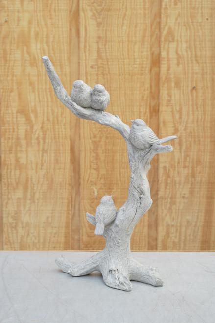 Resin Branch with Three Birds