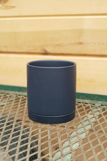 Romey Pot in Blue