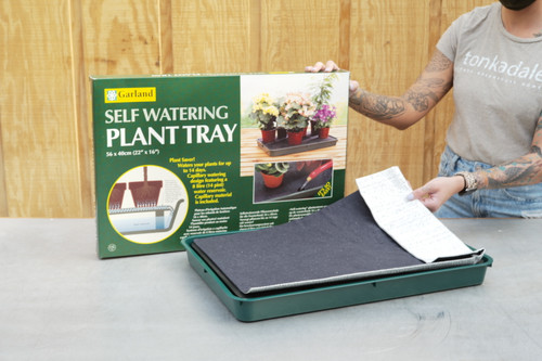 Self-Watering Plant Tray