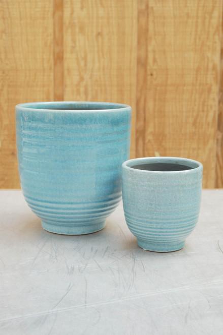 Mia Pot in Light Blue