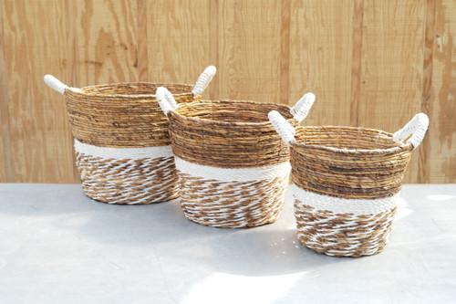 Key Largo Round Basket