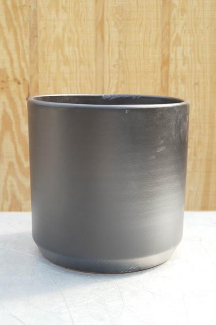 """15"""" Deep Cylinder in Matte Black"""