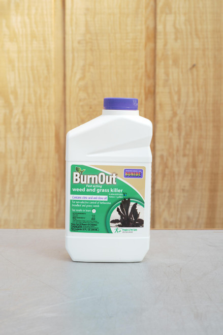 32 oz Burn Out Fast Acting Weed & Grass Killer Concentrate