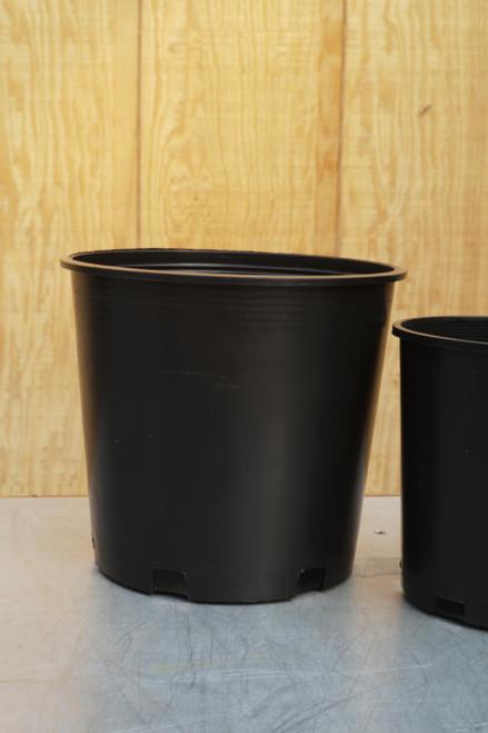 """10.5"""" Grower's Pot in Black"""
