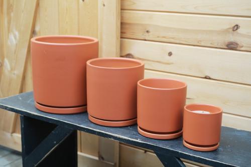 Gemstone Cylinder in Rust