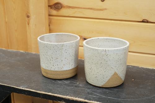 "4"" Buttermilk White Pot"