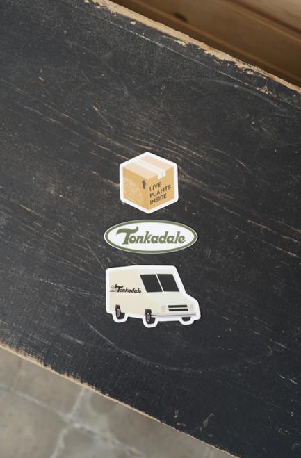 Live Plants Box Sticker
