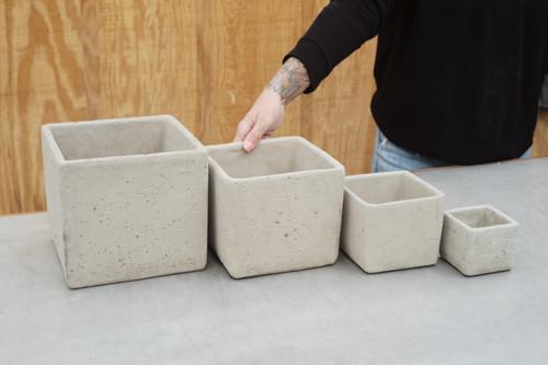 Cement Square Planter