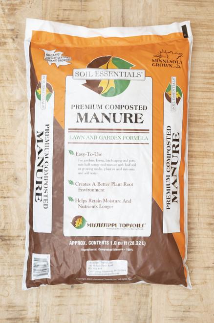 Premium composted manure soil essentials