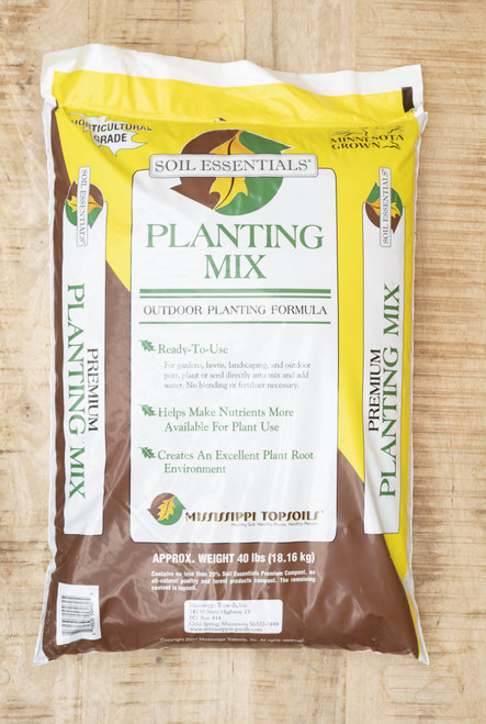 Planting mix soil essentials