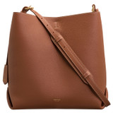 Oroton Margot Hobo in Whiskey and Pebble Leather for female