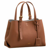 Oroton Margot Mini Day Bag in Whiskey and Pebble Leather for female