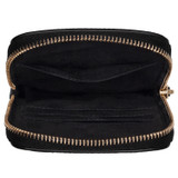 Oroton Lucy Phone Crossbody in Black and Pebble Leather for female
