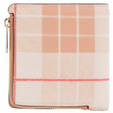 Oroton Harriet Print Mini Wallet in Caramel and Printed Saffiano PVC/Saffiano Leather for female