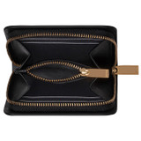 Oroton Minna Small Seamless Wallet in Black and Smooth Leather for female