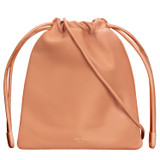 Oroton Lilia Crossbody in Treacle and Smooth Leather for female