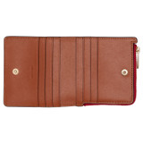 Oroton Harriet Mini Wallet in Pink Musk Mix and Saffiano Leather for female