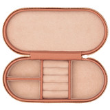 Oroton Jude Jewellery Case in Treacle and Pebble Leather for female