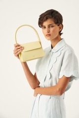 Oroton Arden Small Bag in Lemon Curd and Smooth Leather for female