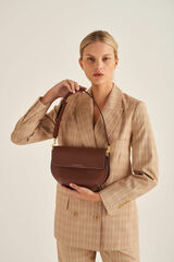 Oroton Matteo Satchel in Nutmeg and Smooth Leather for female